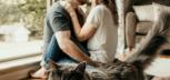 Kobieta, mężczyzna i kot