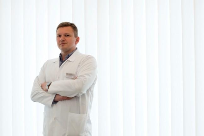 dr Piotr Dawid, fot. Gyncentrum
