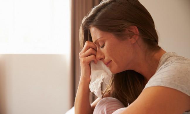 kobieta płacząca